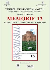 Loc- Memorie 12