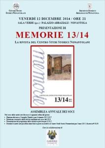 Loc- Memorie 13-14