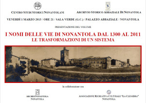 Loc- Vie Nonantola 1 marzo 2013